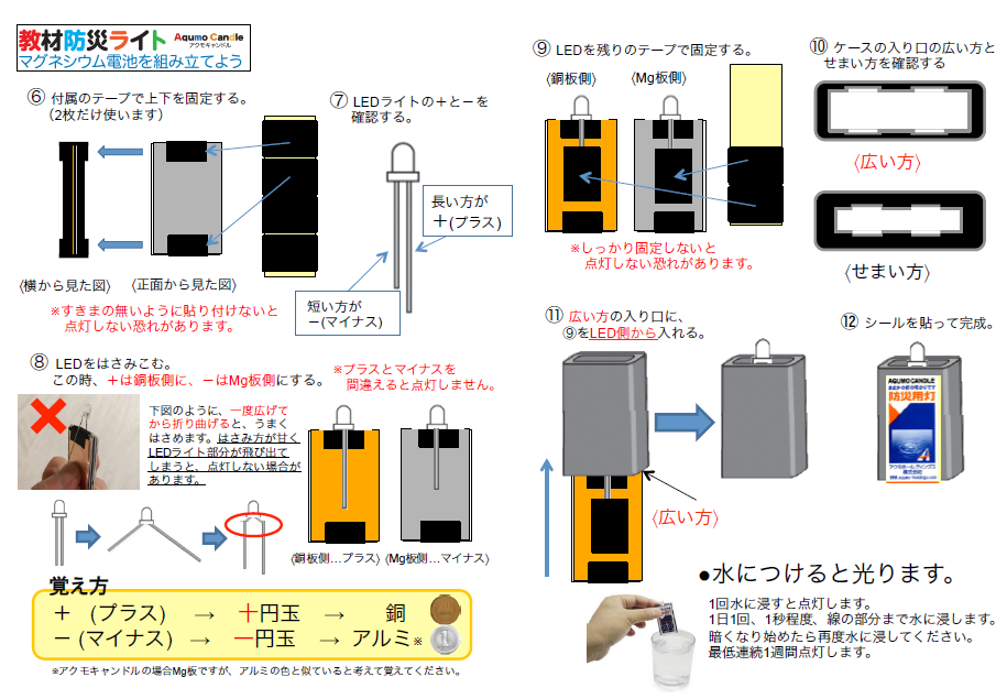 アクモキャンドル組み立て説明書(改訂版2016.2.1)2